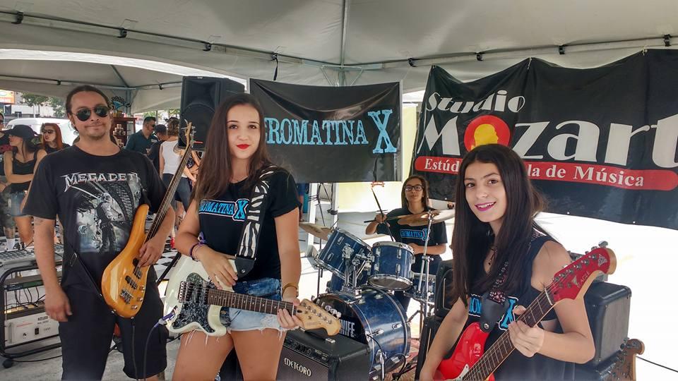 Banda Cromatina X