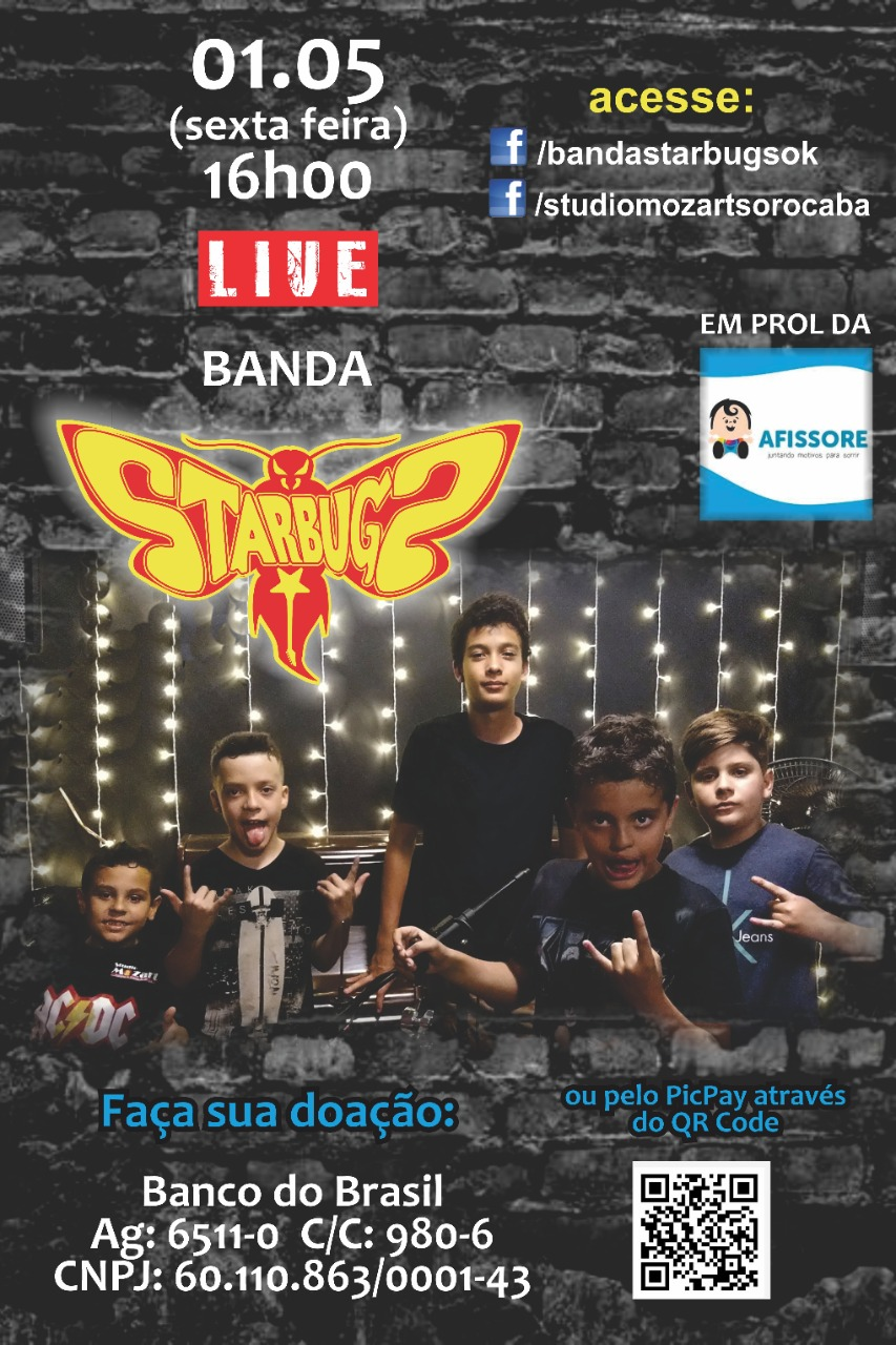 Live dos StarBugs!!