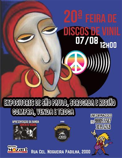 20ª Feira de Disco de Vinil do Studio Mozart