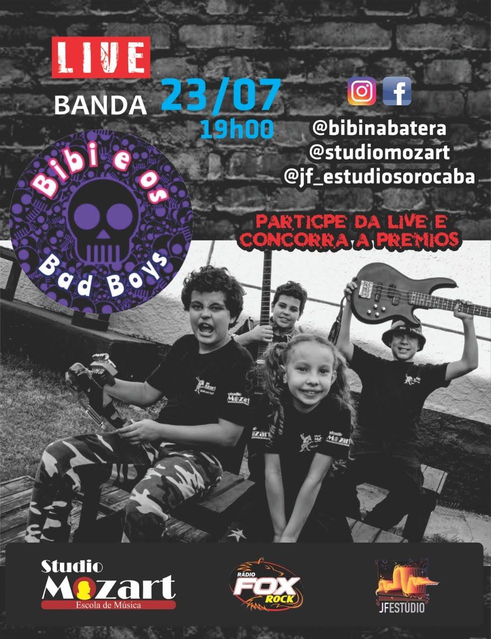 LIVE com a banda Bibi e os Bad Boys
